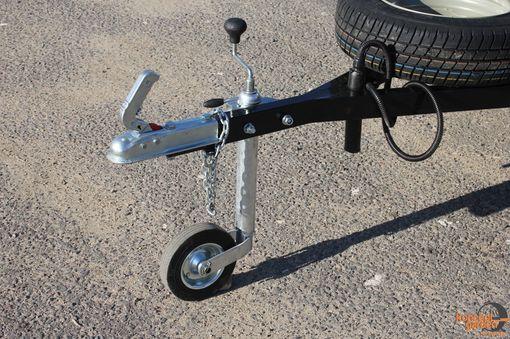 с опорным колесом(для мустанг)
