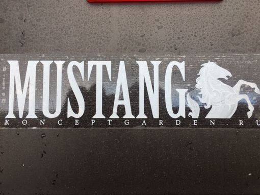 Прицеп Mustang 203 ф